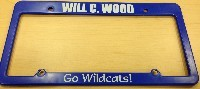Get Your Wildcats License Plate Frame!